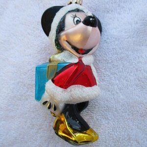 Christopher Radko Christmas Ornament Minnie Mouse
